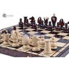 Šachmatai King's Big 440x220x60mm, karalius 75mm