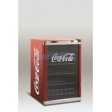 Šaldytuvas - vertikali vitrina Scandomestic High Cube