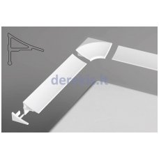 Sandarinimo apdailos juostelė Ravak 11/1100 balta, XB461100001