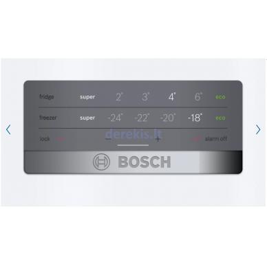 Šaldytuvas Bosch KGN397WEQ 5