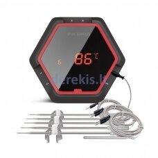 Šešių zondų skaitmeninis termometras IBT-6XS