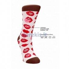 Sexy Socks Lip kojinės vyrams (42-46 dydis)