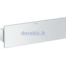 Sieninis lizdas su dušo laikikliu ir lentyna Hansgrohe FixFit Porter 300, 26456000, chromas