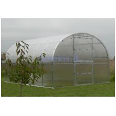 Šiltnamis BALTIC LT 12 metrų ilgio (36 m2 ) 6 mm danga + DOVANA Augalų parišimo komplektas