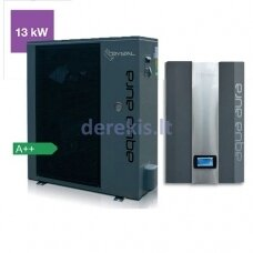 Šilumos siurblys oras-vanduo Crystal Aqua Aura (13 kW)