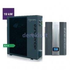 Šilumos siurblys oras-vanduo Crystal Aqua Aura (19 kW)