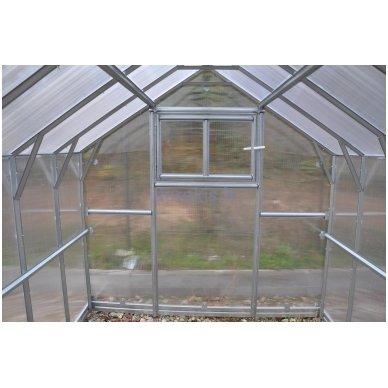 Šiltnamio KLASIKA*HOUSE 2 metrų prailginimas 6 mm danga