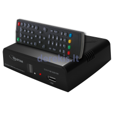 Skaitmeninis TV priedėlis TV STAR T2 517/6 HD USB PVR