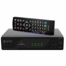 Skaitmeninis TV priedėlis TV STAR DVBT2 536 HD Black