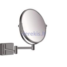 Skutimosi veidrodis Hansgrohe AddStoris, 41791340, šlifuotas juodas chromas