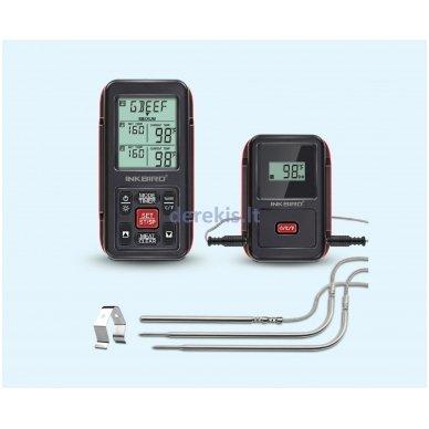 Skaitmeninis bevielis maisto termometras Inkbird IRF-2S 2