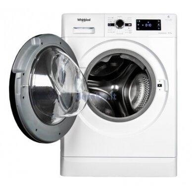Skalbimo mašina su džiovinimo funkcija Whirlpool FWDG97168B EU 2
