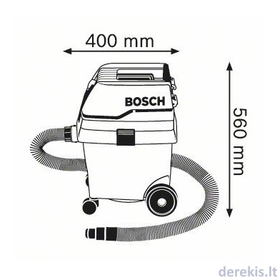 Skysčių ir sausų dulkių siurblys Bosch GAS 25 L SFC Professional, 0601979103 3