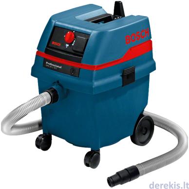 Skysčių ir sausų dulkių siurblys Bosch GAS 25 L SFC Professional, 0601979103