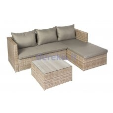 Sodo baldų komplektas Domoletti Sicily Brown J5063