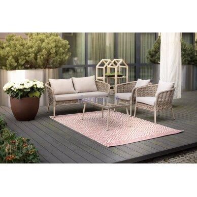 Sodo baldų komplektas Domoletti Ecco J5113 4