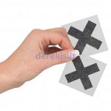Spenelių lipdukai X (juoda)