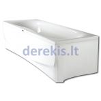 Stačiakampė akrilinė vonia PAA PRELUDE (spalvą galima pasirinkti)