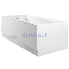 Stačiakampė akrilinė vonia PAA SONATA (spalvą galima pasirinkti)