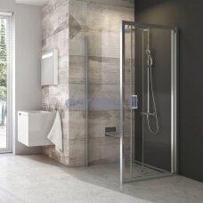 Stacionari dušo sienelė Ravak BLPSZ-90 bright alu+Transparent X93H70C00Z1