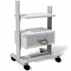 Stalas su ratukais medicininiams įrankiams Juventas STA 01
