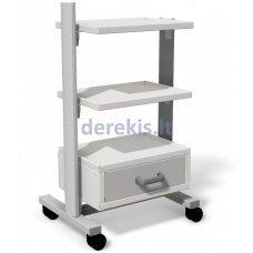 Stalas su ratukais medicininiams įrankiams Juventas STA 03