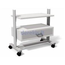 Stalas su ratukais medicininiams įrankiams Juventas STA 08