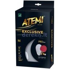 Stalo teniso raketė Atemi Exclusive Pro line (su kietu dėklu)