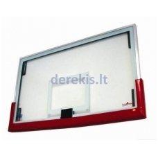 Stiklinė krepšinio lenta 180 x 105 x 10
