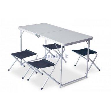 Stalas su kėdutėmis iškylai Pinguin Table Set (spalvą galima pasirinkti) 2