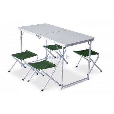 Stalas su kėdutėmis iškylai Pinguin Table Set (spalvą galima pasirinkti) 4