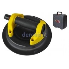 Suction cup with vacuum pump for curved surfaces, 23cm, max 120kg