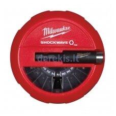 Sukimo antgalių komplektas SHW CD 15 vnt (su magnetu) MILWAUKEE 4932430904