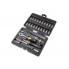Sukimo įrankių rinkinys Forte Tools 216006/8303, 51 vnt.