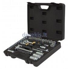 Sukimo įrankių rinkinys Forte Tools 217008/218013, 52 vnt.