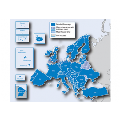 Suprogramuota microSD kortelė su 2016 žemėlapių atnaujinimu Kenwood KNA-SD18E 2