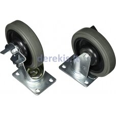 Swivel wheels 125mm for Bahco tool trolleys 1472K and 1477K