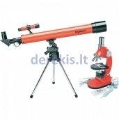 Teleskopai ir mikroskopai