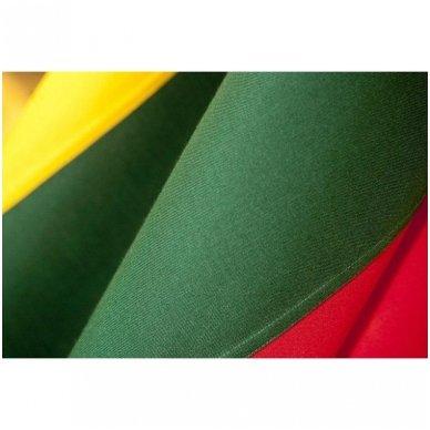 Tautinė vėliava, kabinama ant koto 1 x 1,7 m