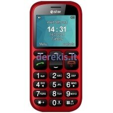 Telefonas eStar S22 Raudonas