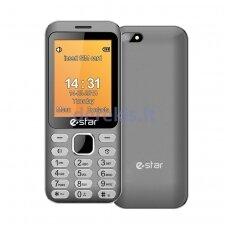 Telefonas eStar X28 Sidabrinis