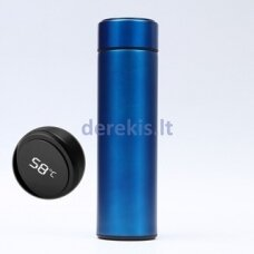 Termo gertuvė su LED ekranu, mėlyna