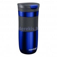 Termo puodelis su vakuumine izoliacija Contigo Byron Deep Blue 2095559, 470 ml