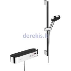 Termostatinė dušo sistema Hansgrohe Pulsify Select 24260000, chromas