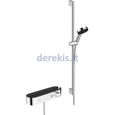 Termostatinis dušo komplektas Hansgrohe Pulsify Select, 24270000, chromo