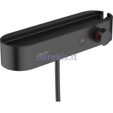 Termostatinis dušo maišytuvas Hansgrohe ShowerTablet 24360670, juodas matinis
