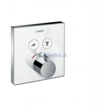 Termostatinis maišytuvas Hansgrohe ShowerSelect Glass 15738400