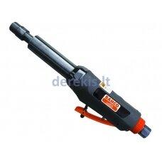 Tiesinis prailgintas pneumatinis šlifuoklis su griebtuvu, 3 ir 6mm griebtuvai kompl. 25000 aps/min, 258mm.