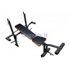 Treniruočių suolas Adjustable workout bench LS1101