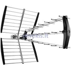 TV antena TV STAR T-1116 UHF Triplex LTE